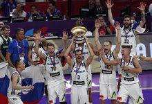 Slovėnų triumfas Europos čempionate