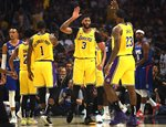 "NBA: ""Clippers"" – ""Lakers"""