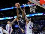 """NBA: """"Pelicans"""" – """"76ers"""""""