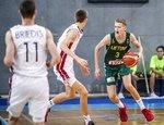 U-16 čempionatas: Latvija – Lietuva