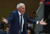 Ž.Obradovičius buvo itin nepatenkintas savo komanda (Scanpix nuotr.)