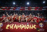 Ispanija skina titulus (FIBA nuotr.)