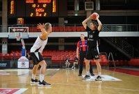 "I.Sargiūnas vedė komandą į pergalę (""Optibet Summer League"" nuotr.)"