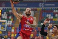 M.Jamesas vedė CSKA į pergalę