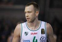 L.Lekavičius žais prieš savo buvusį klubą Atėnuose (BNS nuotr.)