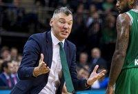 Š.Jasikevičius sakė, kad dabar komanda yra kaip vaikų darželis (BNS nuotr.)