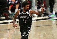 K.Irvingas nori žaisti tik Brukline (Scanpix nuotr.)