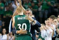 A.White'as liko patenkintas šiuo sezonu (BNS nuotr.)