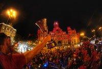 Ispanija pasitiko savo didvyrius