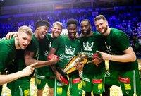 """""""Žalgiris"""" – viena iš vos keturių taures kėlusių Eurolygos komandų (BNS nuotr.)"""