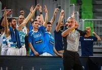 Slovėnijos ekipa pirmą kėlinį laimėjo net 24 taškais (FIBA Europe nuotr.)
