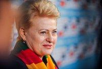 D.Grybauskaitė didžiuojasi Lietuvos krepšininkais (Fotodiena.lt)
