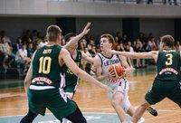 Jaunimo rinktinių susidūrimą laimėjo metais jaunesni lietuvaičiai (Krepšinio namų nuotr.)