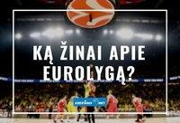 Ką žinai epie Eurolygą? (Krepsinis.net nuotr.)