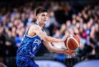 K.Kriisa debiutavo Estijos rinktinėje (FIBA Europe nuotr.)
