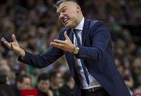 Š.Jasikevičius teigė, kad Pirėjo klubas nuo sezono pradžios sustiprėjo (BNS nuotr.)