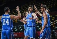 Italija pirmoje rungtynių dalyje turėjo dviženklį deficitą (FIBA nuotr.)
