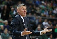 Š.Jasikevičius pasidžiaugė komandos gynyba (BNS nuotr.)