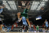 J.Lauvergne'as gynyboje sunkiai tvarkėsi su savo uždaviniais (Euroleague.net)