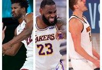 NBA žvaigždės pasiekė konferencijų finalus (Scanpix nuotr.)