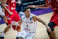 E.Lecomte'as rungtyniaus Prienuose (FIBA Europe nuotr.)