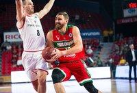 D.Gailius prastai atakavo iš toli (FIBA Europe nuotr.)