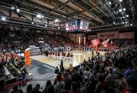 Bamberge šį sezoną rungtynės gali nebevykti (FIBA Europe nuotr.)