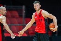 S.Kulvietis šiuo metu negali žaisti krepšinio (BNS nuotr.)