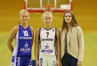 Iš kairės į dešinę: E.Rin Tammik, A.Grase ir G.Morkūnaitė (V.Mikaičio nuotr.)