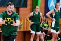 R.Kondratavičaius treniruojama rinktinė susirinko darbui (Foto: Žygimantas Vingelis)
