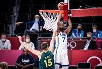 K.Durantas perlaužė rungtynes (FIBA nuotr.)