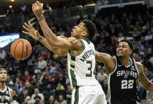 "NBA: ""Bucks"" – ""Spurs"""