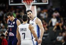 Ketvirtfinalis: Argentina – Serbija