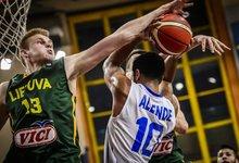 U19: Lietuva – Puerto Rikas