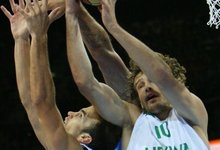 Dėl 5 vietos: Lietuva - Graikija