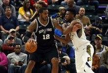 "NBA: ""Pacers"" – ""Spurs"""