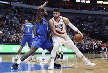 "NBA: ""Trail Blazers"" – ""Mavericks"""