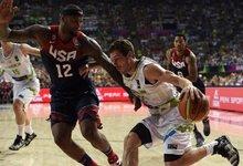Pasaulio taurė: JAV - Slovėnija