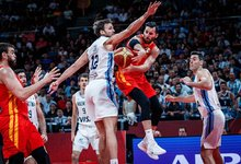 Finalas: Argentina – Ispanija