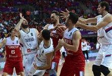Europos čempionatas: Serbija –...