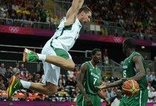 Olimpiada: Lietuva - Nigerija