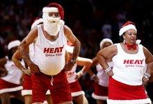NBA Kalėdos nuotraukose