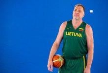Lietuvos krepšininkai su...