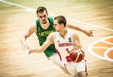 U20: Lietuva – Juodkalnija