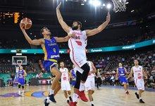 Eurobasket: Rumunija – Juodkalnija