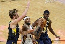 "NBA: ""Pelicans"" – ""Pacers"""