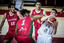 U18: Lietuva – Portugalija