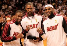 """Heat"" atsiėmė čempionų žiedus"