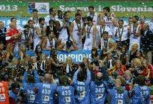 Europos čempionų triumfo akimirkos