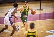 U19 pusfinalis: Lietuva – JAV